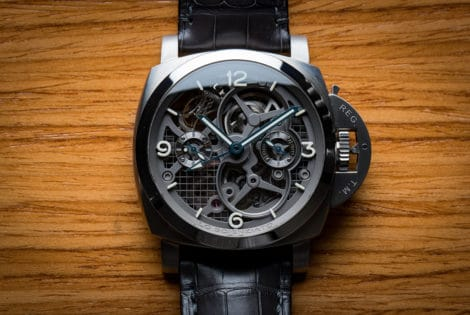 Panerai Luminor 1950 Tourbillon GMT Titanio