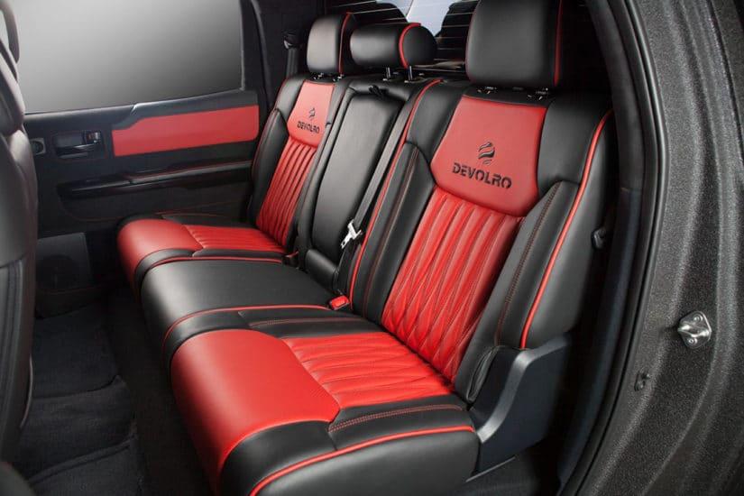 Toyota Tundra Diablo by Devolro, Interior
