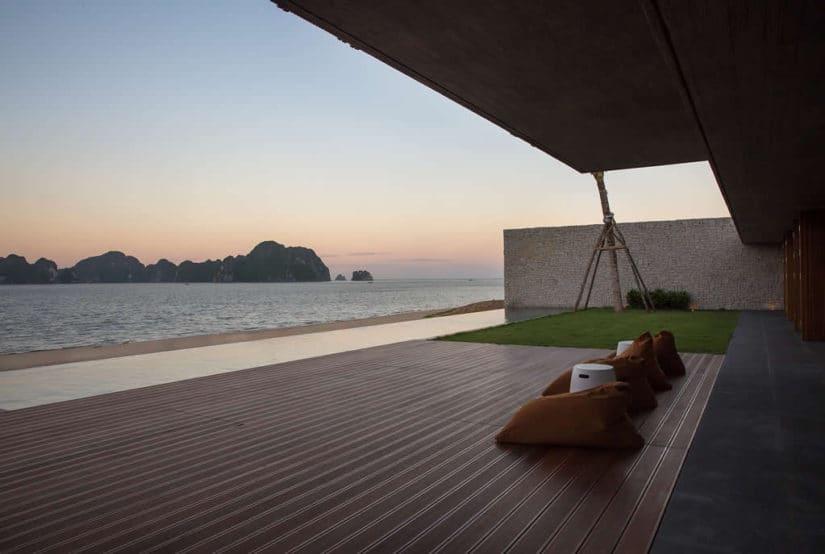 Villas in Vietnam's Ha Long Bay