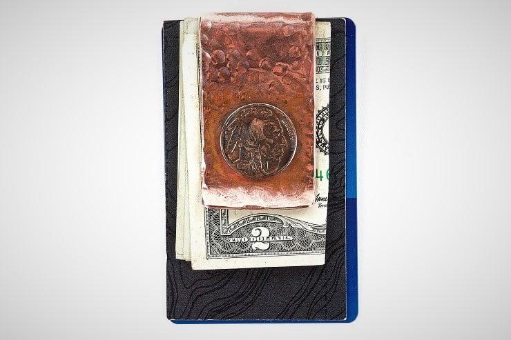 Buffalo Nickel Money Clip