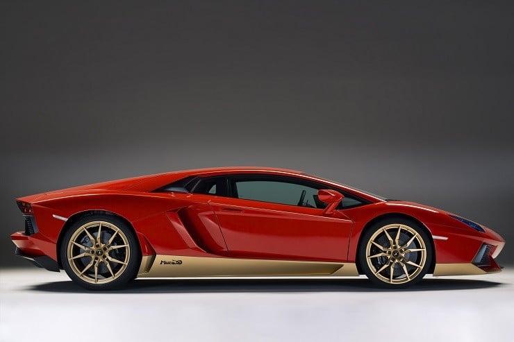 Lamborghini Aventador Miura Homage 2