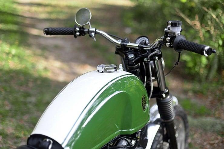 Yamaha Virago Scrambler by Greg Hageman 10