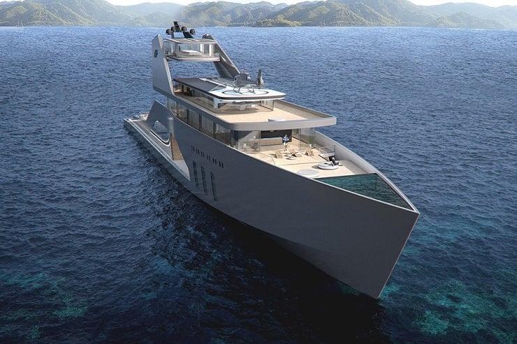 108M Mega Yacht Concept 1