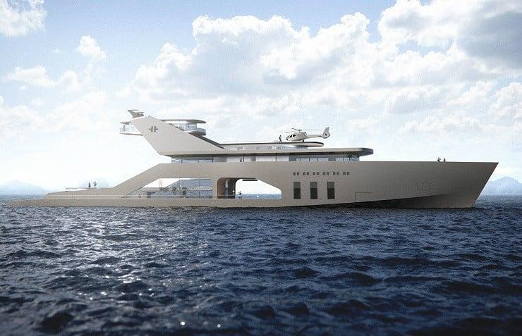 108M Mega Yacht Concept 5
