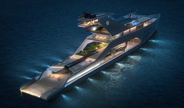 108M Mega Yacht Concept 6