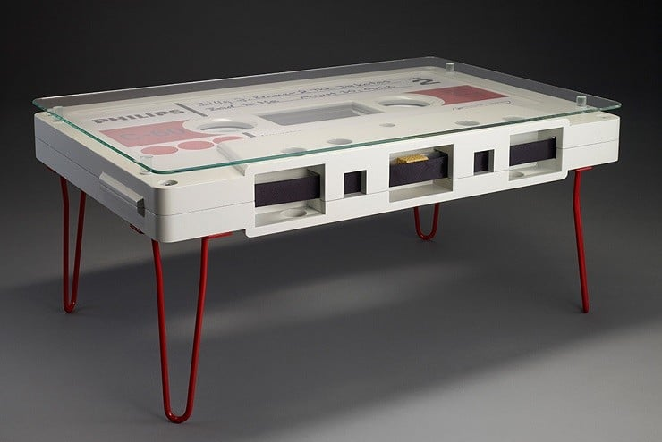 Cassette Coffee Tables By Altar Furniture Men S Gear