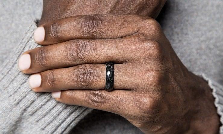 Forged Carbon Fiber Wedding Ring 2