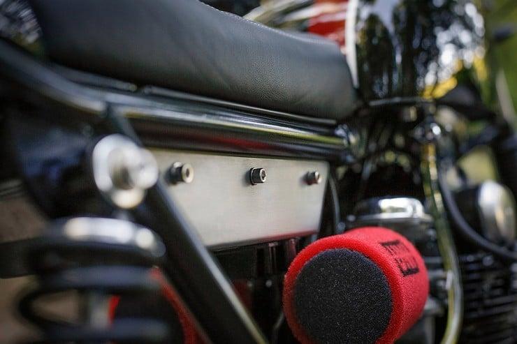 Honda CB350 Scrambler by Catskill Mountain Customs Inc. 10