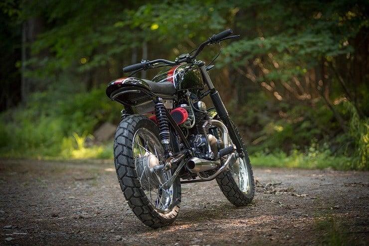 Honda CB350 Scrambler by Catskill Mountain Customs Inc. 3