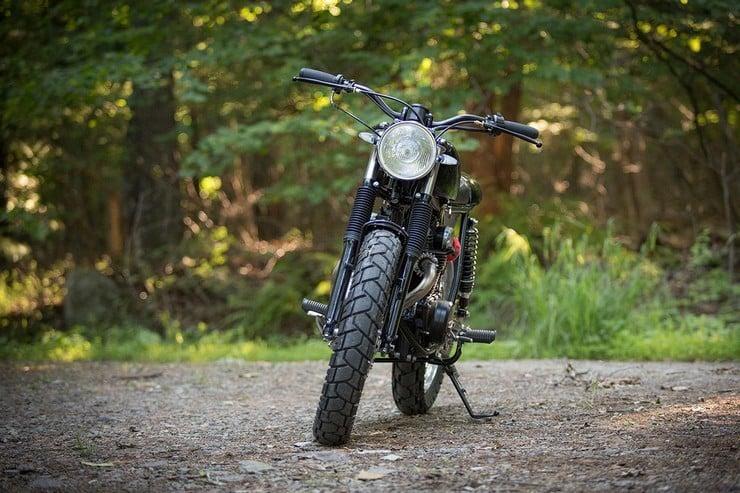 Honda CB350 Scrambler by Catskill Mountain Customs Inc. 5
