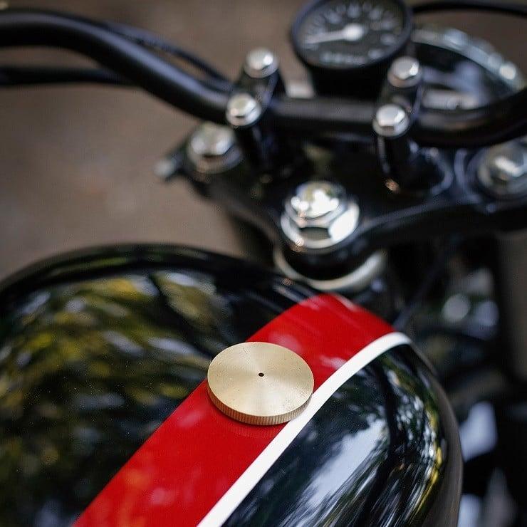 Honda CB350 Scrambler by Catskill Mountain Customs Inc. 6