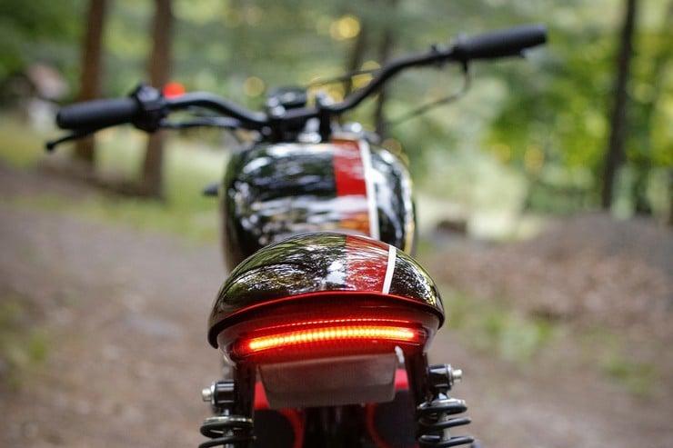Honda CB350 Scrambler by Catskill Mountain Customs Inc. 7