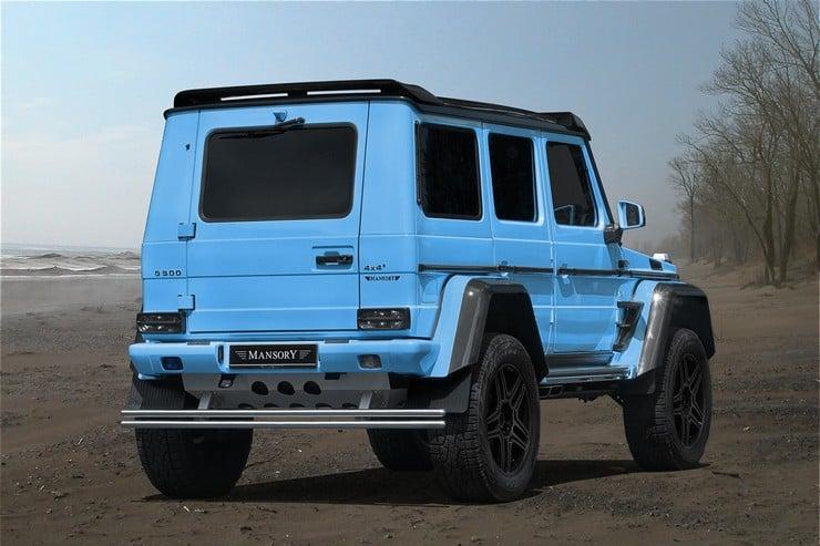 MANSORY Mercedes G500 4×4² 2