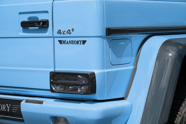 MANSORY Mercedes G500 4×4² 6