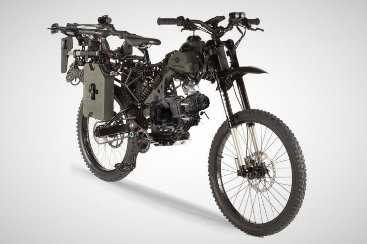 Motoped Black Ops Survival Bike 13