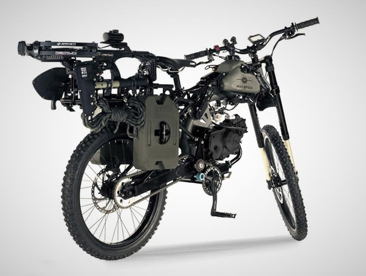 Motoped Black Ops Survival Bike 2