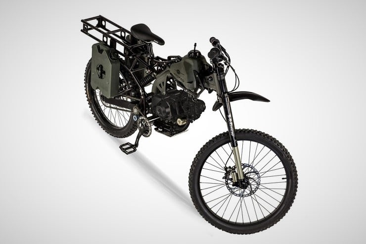 Motoped Black Ops Survival Bike 4