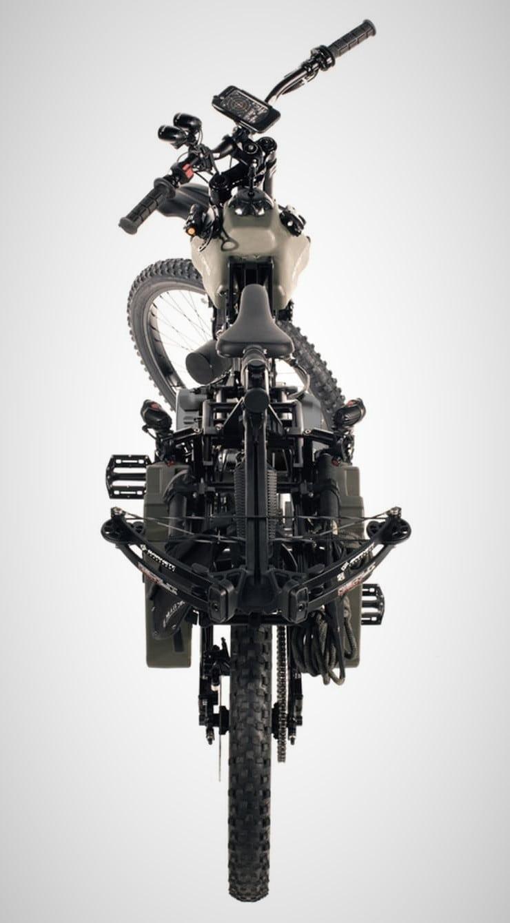 Motoped Black Ops Survival Bike 6