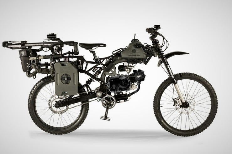 Motoped Black Ops Survival Bike Men S Gear
