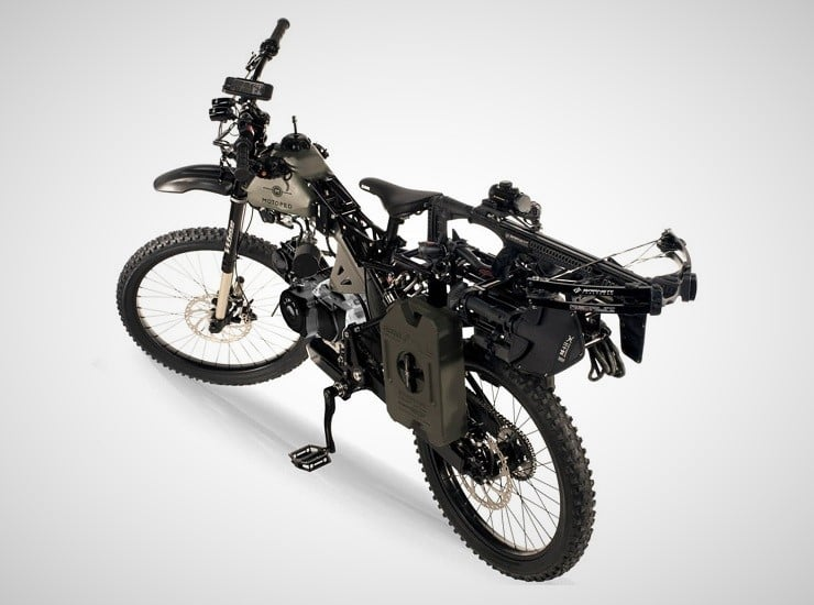 Motoped Black Ops Survival Bike 8
