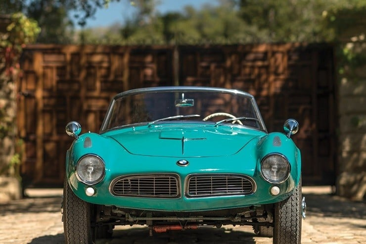1957 BMW 507 Roadster Series I 12