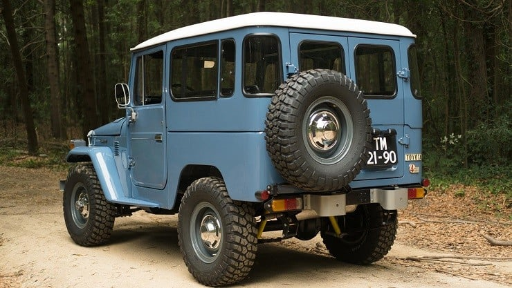 CoolnVintage 1979 Toyota Land Cruiser 10