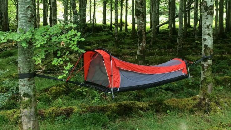 Crua Tent-Hammock Hybrid 6
