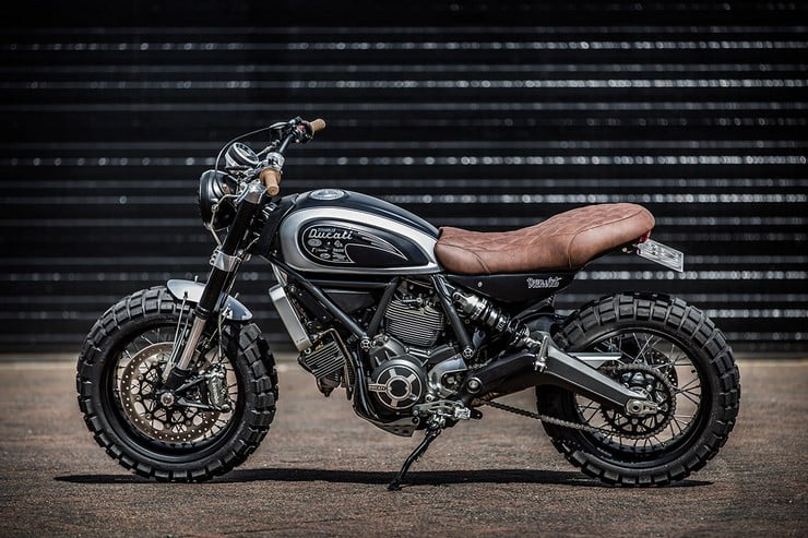 Custom Ducati Scrambler by Down & Out Cafe Racers 6