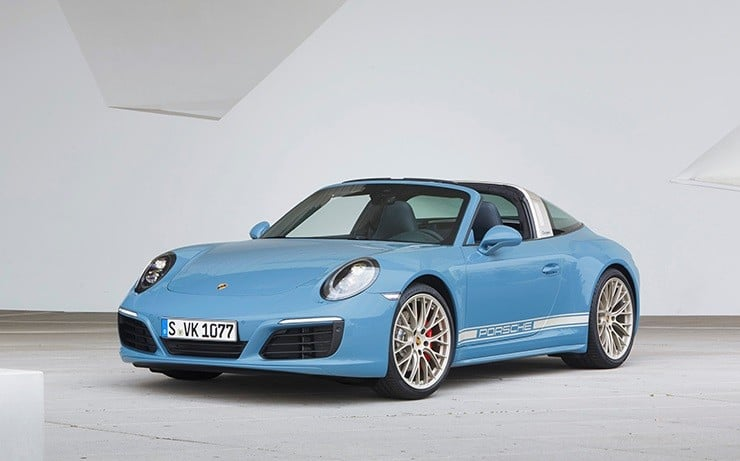 Porsche 911 Targa 4S Exclusive Design Edition 1