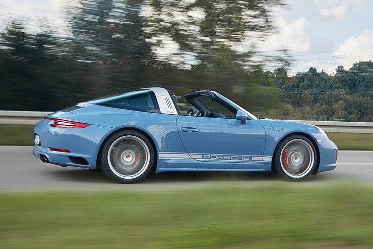 Porsche 911 Targa 4S Exclusive Design Edition 10