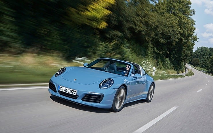 Porsche 911 Targa 4S Exclusive Design Edition 7