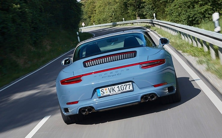 Porsche 911 Targa 4S Exclusive Design Edition 8