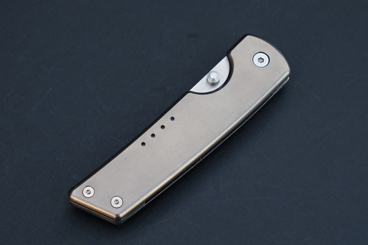 QuietCarry Titanium Pocket Knives 1
