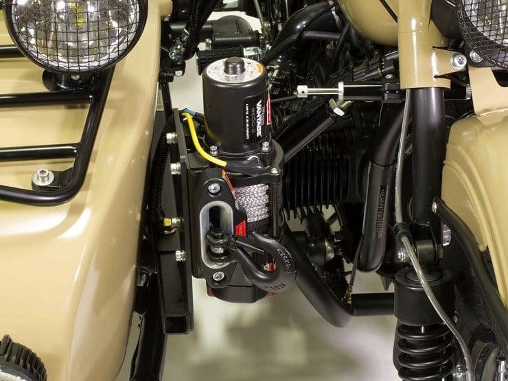 Ural Sahara Motorcycle 11