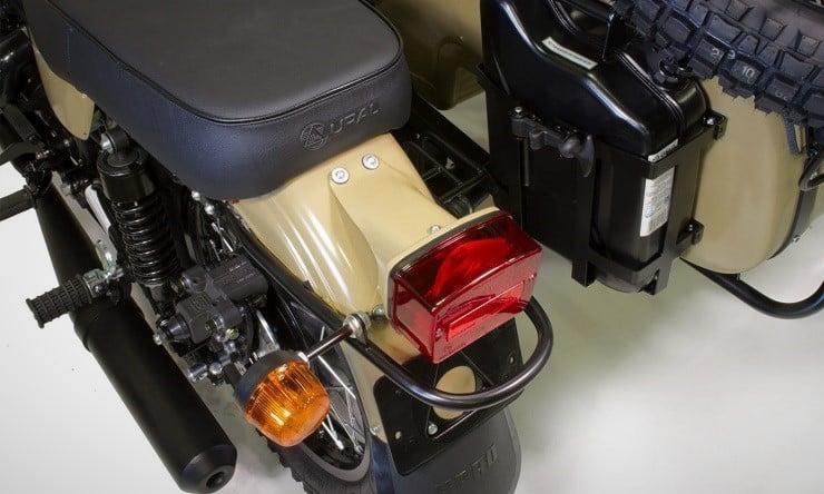 Ural Sahara Motorcycle 3