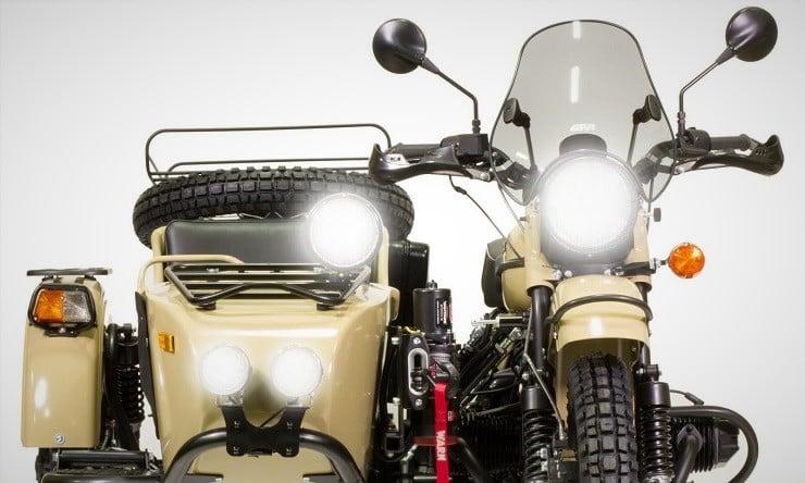 Ural Sahara Motorcycle 4