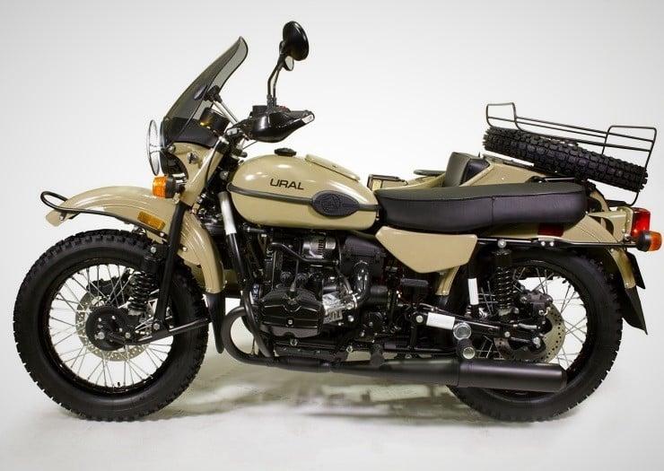 Ural Sahara Motorcycle 9
