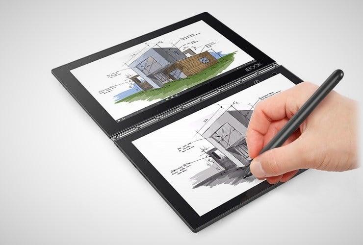 Lenovo Yoga Book 2-in-1 Tablet 13