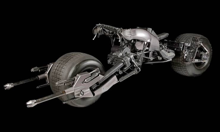 The Dark Knight's Batpod 5