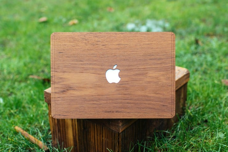 Touch Of Wood MacBook Covers 10