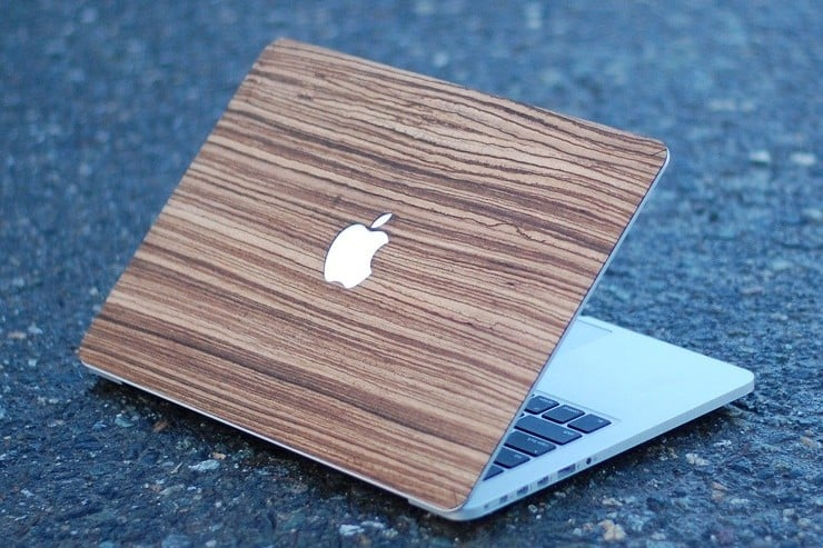 Touch Of Wood MacBook Covers 2