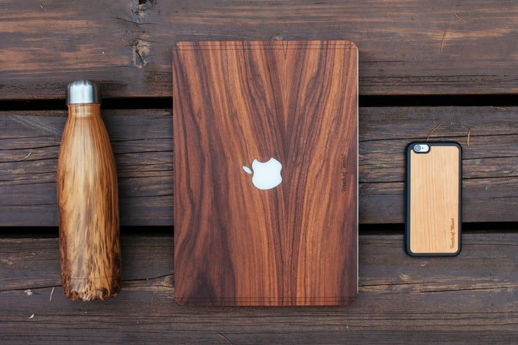 Touch Of Wood MacBook Covers 8