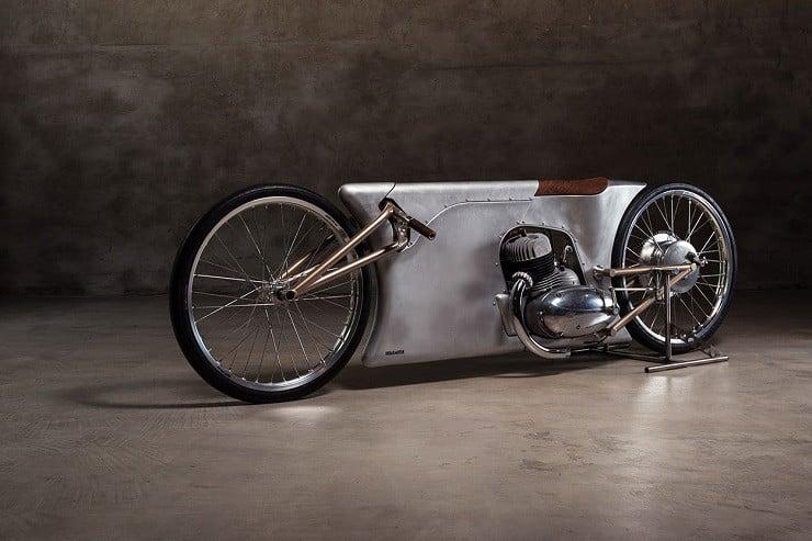 Urban Motor's Jawa Sprint Motorcycle 1