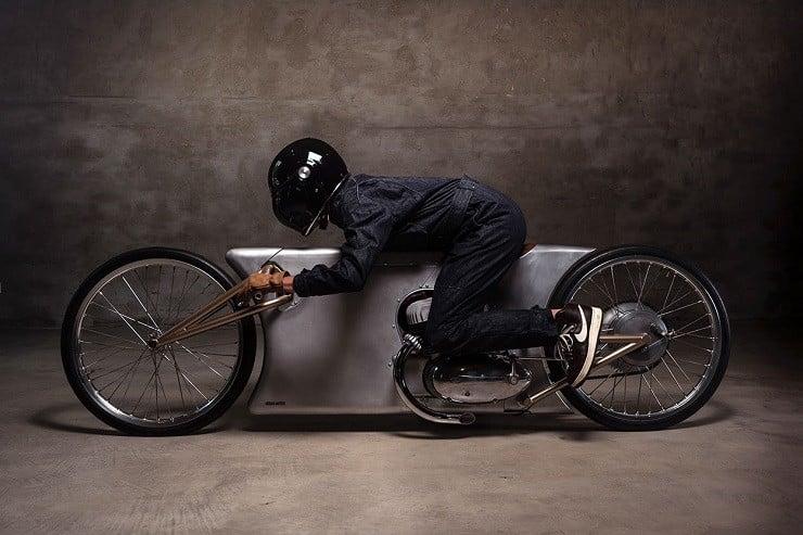 Urban Motor's Jawa Sprint Motorcycle 10