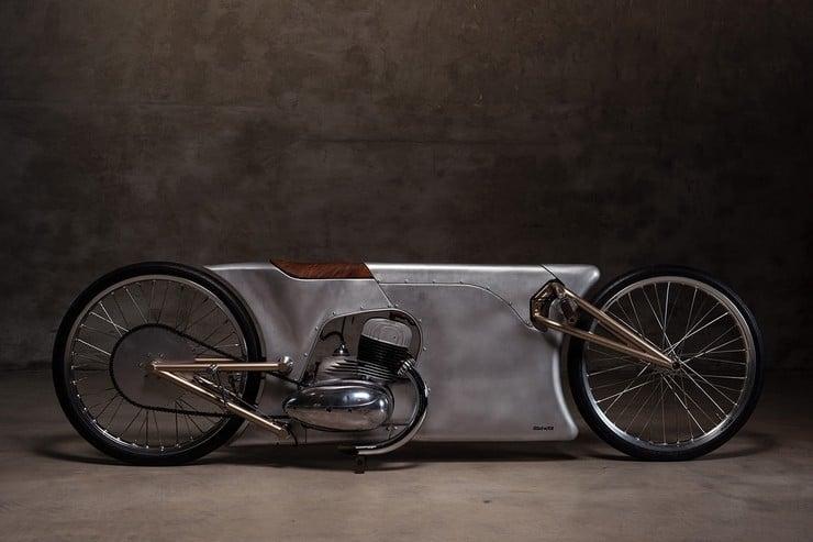 Urban Motor's Jawa Sprint Motorcycle 2