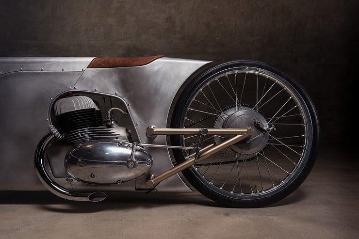 Urban Motor's Jawa Sprint Motorcycle 7