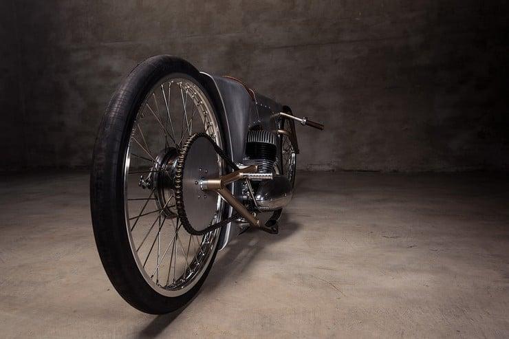 Urban Motor's Jawa Sprint Motorcycle 9