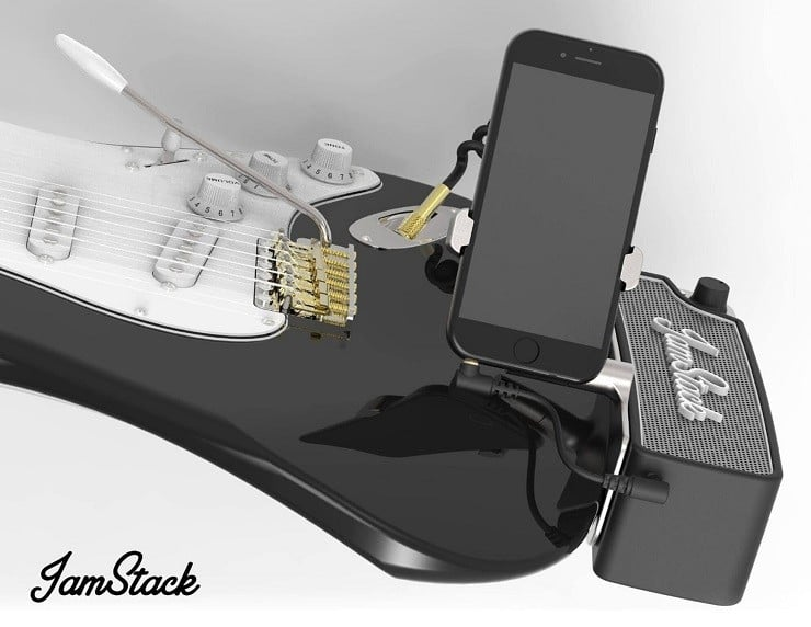 Jamstack Attachable Electric Guitar Amplifier Men S Gear