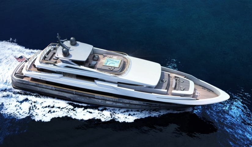 Admiral And IYC Vetta 40 Superyacht