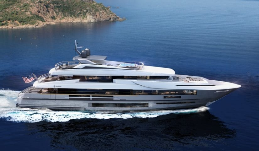 Luxury Vetta 40 Superyacht By Admiral And IYC